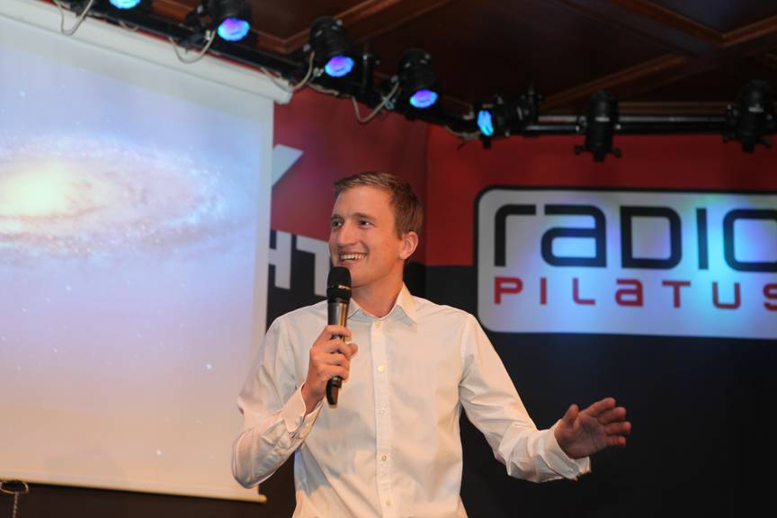 12.03.2014: Radio Pilatus Comedy Night mit Stefan Büsser.