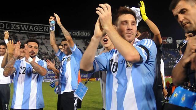Lionel Messi und Kollegen feiern die vorzeitige WM-Qualifikation
