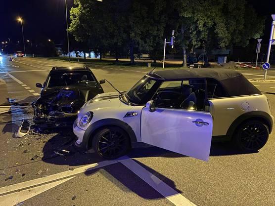 Bei einem Verkehrsunfall in Villmergen wurde ein junger Mann verletzt.