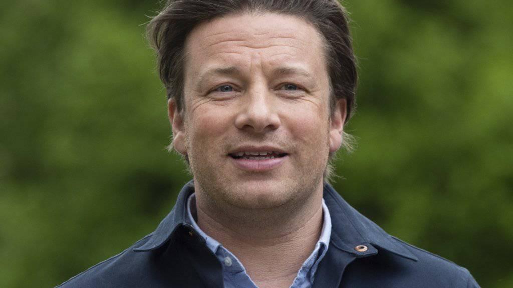 Die Restaurantkette des britischen Starkochs Jamie Oliver, Jamie's Italian, hat in Grossbritannien Insolvenz angemeldet. (Archivbild)