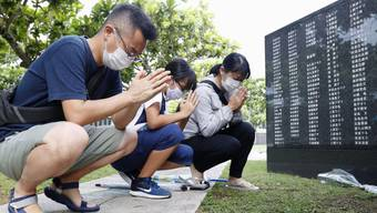 Japan hat am Dienstag den Beteiligten der Schlacht von Okinawa im Zweiten Weltkrieg gedacht.