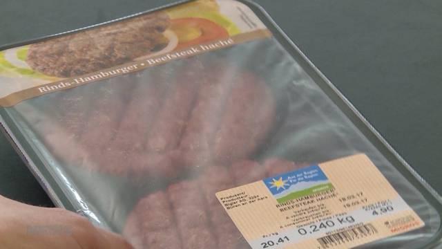 Fast 1 kg statt empfohlene 240 Gramm Fleisch pro Woche