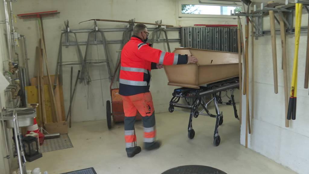 Mehr Corona-Tote: Erste Ostschweizer Pfarreien am Anschlag