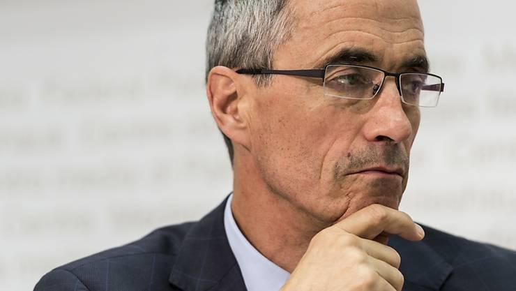 Serge Gaillard, dem Direktor der Eidgenössischen Finanzverwaltung, wird Verleumdung vorgeworfen. Die Bundesanwaltschaft untersucht nun die Vorwürfe. (Archiv)