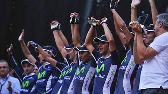 Auftakt-Erfolg für Movistar an der Vuelta.