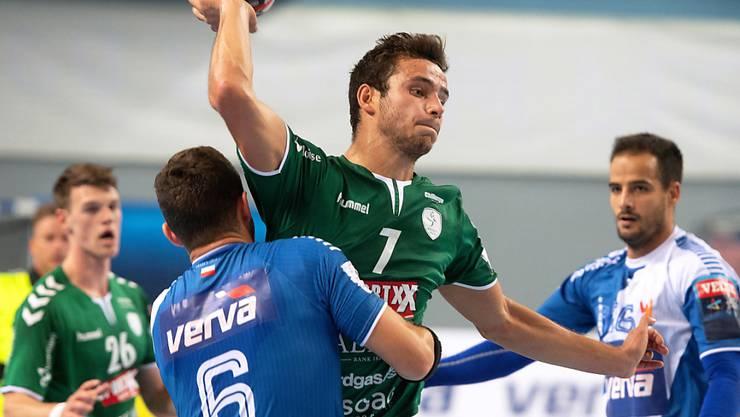 Nicolas Suter erzielte sechs Tore für Wacker Thun