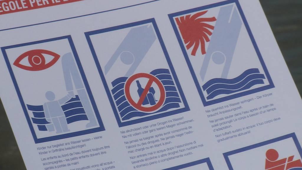 Gefahren lauern in Flüssen und Seen