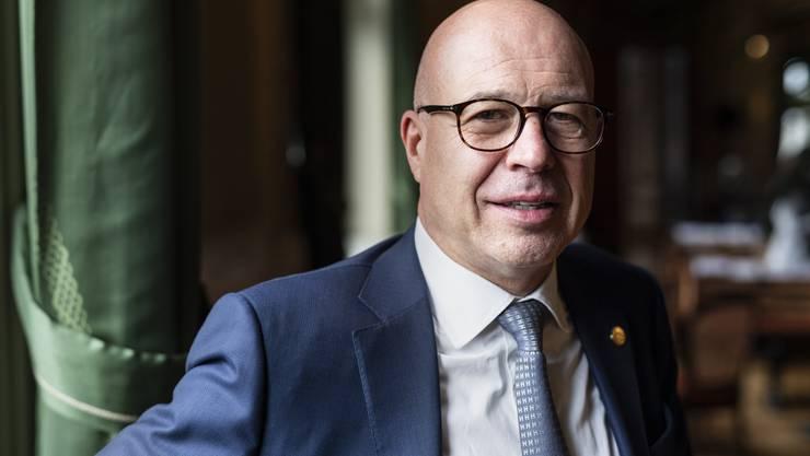 Fabio Regazzi, Präsident des Schweizerischen Gewerbeverbands lehnt die Konzernverantwortungsinitiative ab. (Archivbild)