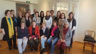 Das Forum «Frauen und Politik im Fricktal» beschäftigte sich im «Schützen» in Rheinfelden» mit den Themen «verdichtetes Bauen» und «Stadtentwicklung». ZVG