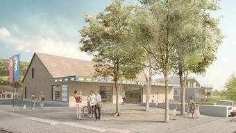 Der Gemeinderat Thalheim will beim neuen Volg Begenungsorte schaffen.