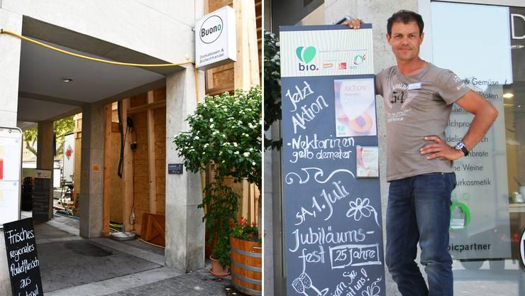 Christian Meier, Geschäftsführer des Bioladens Buono: «Ich wünschte mir, dass das Stadtfest nachhaltiger ist.»