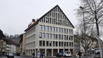 In den drei Obergeschossen an der Schulthess-Allee 1 in Brugg befinden sich die Büros des Verbands Soziale Dienstleistungen.