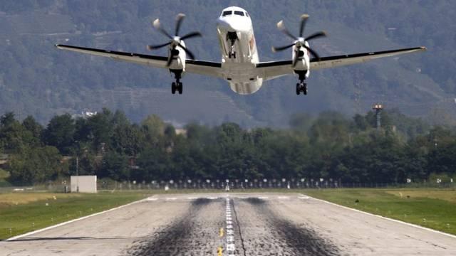 Bisher wurde Lugano mit einer Saab 2000 angeflogen