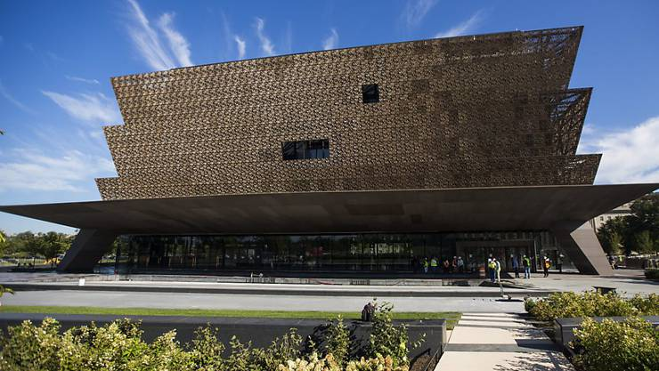 The National Museum of African American History and Culture wird am 24. September eröffnet.