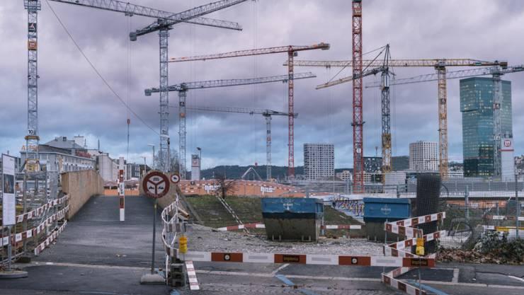 Starker Zinsrückgang bei Schweizer Hypotheken. (Archiv)