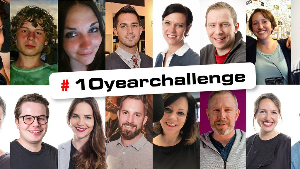Instagram-Hype: 10 Year Challenge