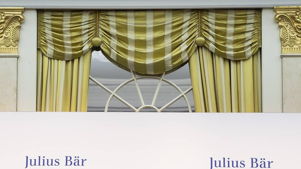 Julius Bär macht bei verwalteten Vermögen weiter Boden gut