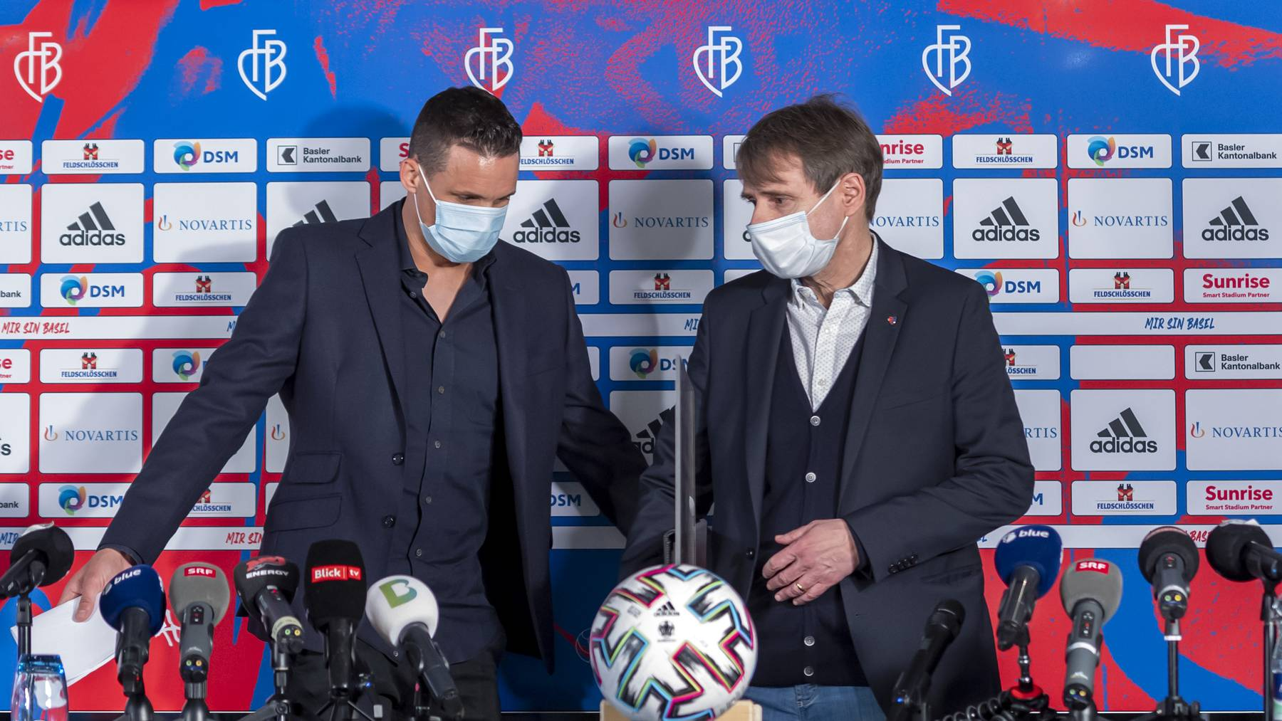 David Degen (links) wird der neue starke Mann im Klub. Der bisherige Hauptaktionär Bernhard Burgener (rechts) tritt seine Aktienanteile ab.