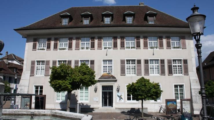 Im Naturmuseum Solothurn fand am Donnerstag die Mitgliederversammlung der Grünliberalen statt.