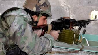 Soldat der syrischen Armee (Archiv)