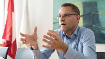 Polizeikommandant Gerhard Lips will den Graben im Korps zuschütten.