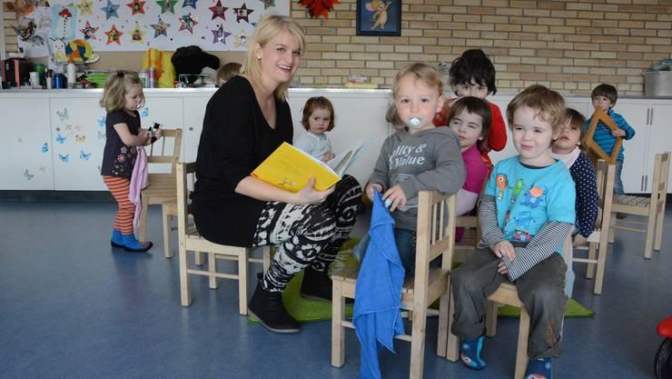 Monika Stampfli betreut «ihre» Kinder künftig an der Mühlemattstrasse.