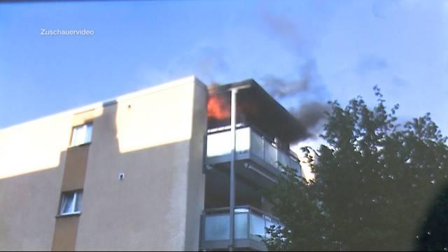 Wohnung in Stilli komplett ausgebrannt