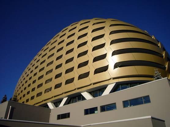 Das futuristische Luxushotel Intercontinental in Davos