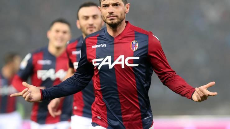Blerim Dzemaili erzielte bereits sein 4. Saisontor für den FC Bologna