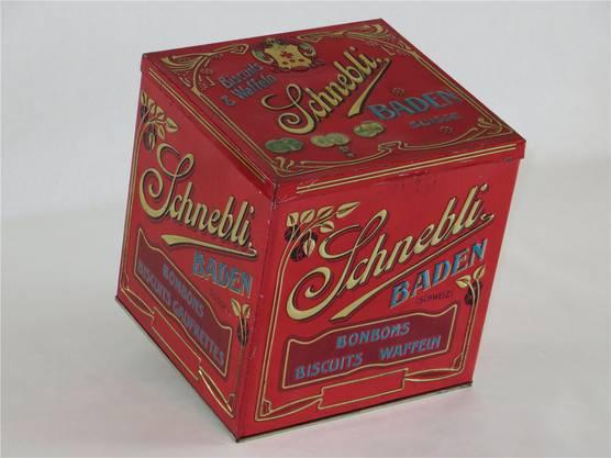 Inspirierte den Autor zum Buch: Schnebli-Blechdose.