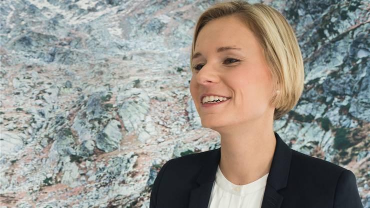 «Unabhängigkeit ist heute so wichtig wie noch nie», sagt RTR-Direktorin Ladina Heimgartner. Dominik Hardegger/RTR