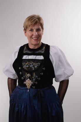Prisca Schneitter war eine der 24 Alphorn SpielerInnen.