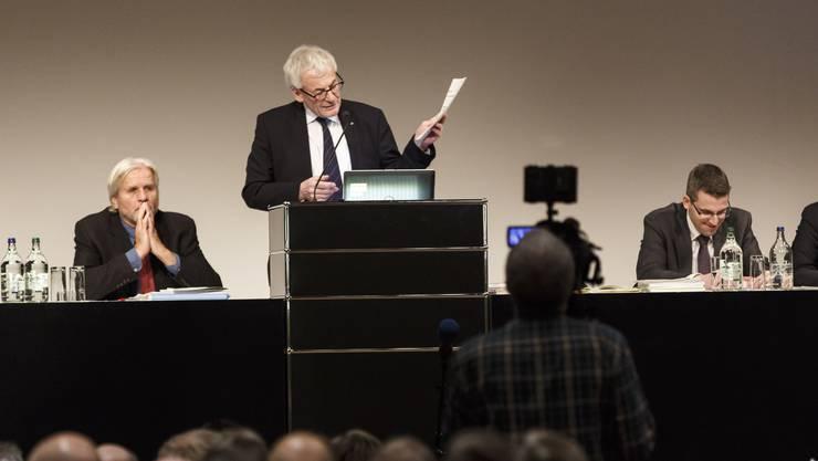 Stadtpräsident Kurt Fluri musste sich am 18. Dezember mit verschiedenen Anträgen auseinandersetzen.