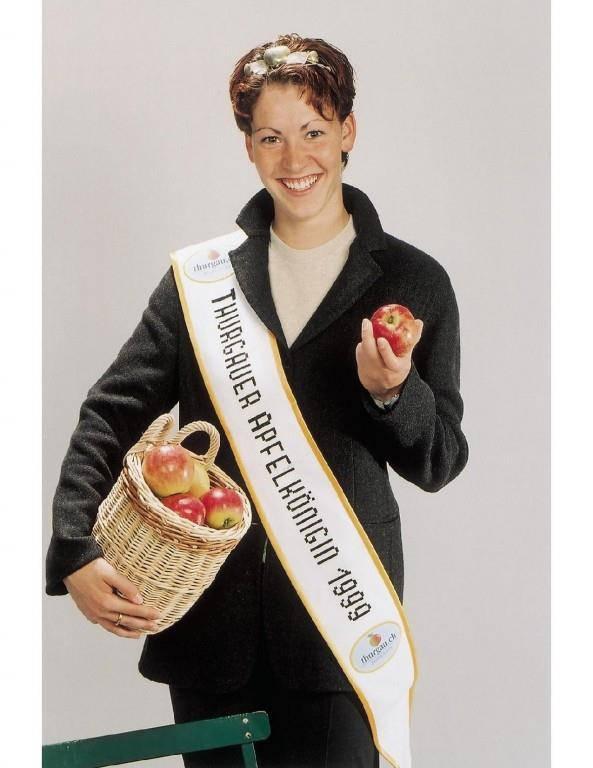 Apfelkönigin 1999 Fabienne Hofer
