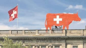 Die Schweizer Botschaft in Berlin. (Archiv)