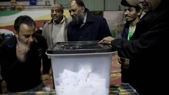 Blick auf ein Abstimmungslokal in Ägypten (Archiv)