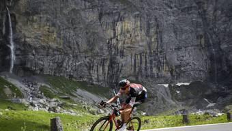 Michael Schär nimmt als wichtiger Helfer von Richie Porte für Team BMC an der Tour de France teil