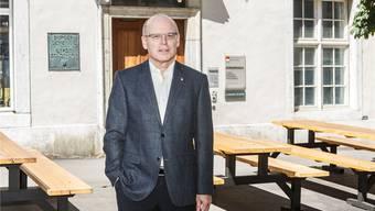 «Gewissermassen CEO und VR-Präsident gleichzeitig» – so reflektiert Sergio Wyniger seine Doppelrolle.Bild: Andreas Kaufmann