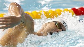 Jérémy Desplanches stand erstmals seit seinem Goldgewinn wieder im Einsatz - und schied über 400 m Lagen klar aus