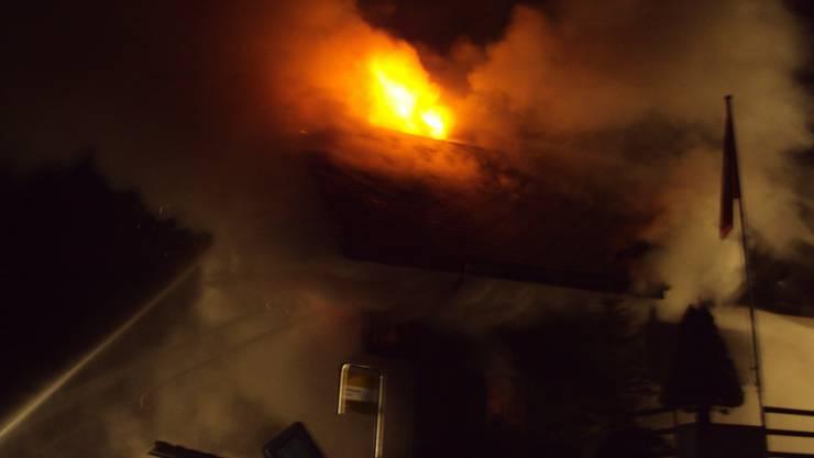Der Brand in Schangnau