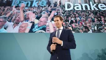 Der alte und sehr wahrscheinlich auch neue Kanzler von Österreich: Der 33-jährige Sebastian Kurz.