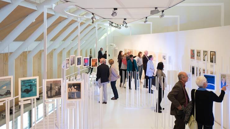 Das Historische Museum hatte 2017 Erfolg mit seinen Sonderausstellungen, wie hier mit «Über den Wellen» im Mai.
