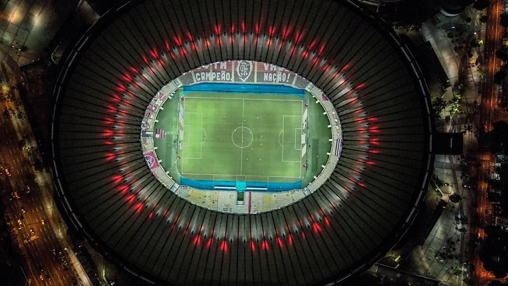 Ende März finden in Südamerika, im Bild das Maracana-Stadion in Rio de Janeiro, keine WM-Qualifikationsspiele statt