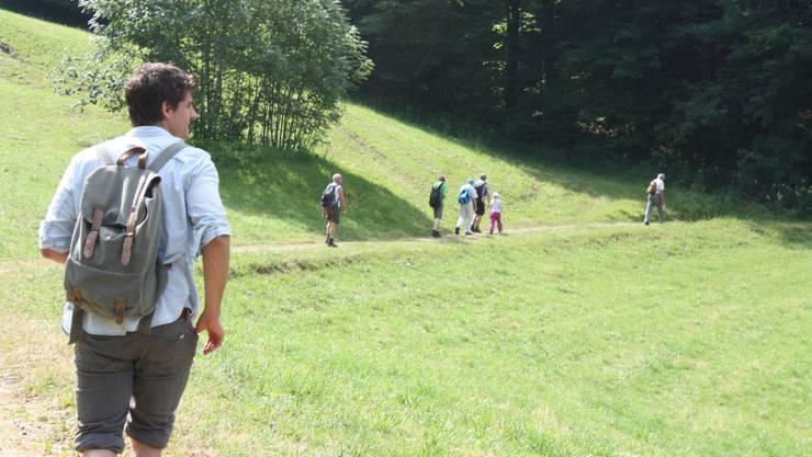 Marc Scherrer, Laufentaler CVP-Präsident, sieht das Feld meist von hinten