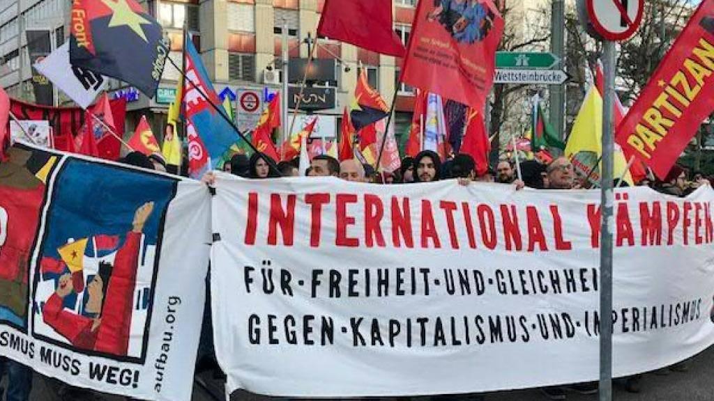 Mehrere Hundert an Demonstration in Basel