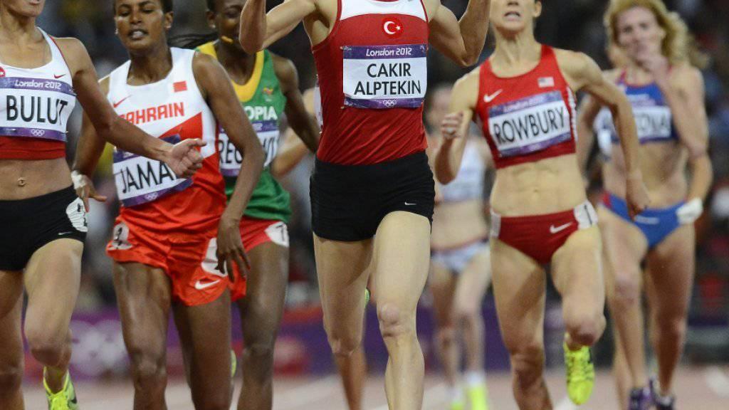 In London gewann die Türkin Asli Cakir Alptekin 2012 Gold über 1500 m - das wurde ihr später aberkannt