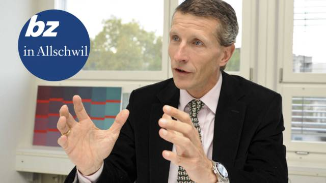 Marc-André Giger (52), Leiter der Baselbieter Wirtschaftsoffensive, schwärmt von Allschwil.