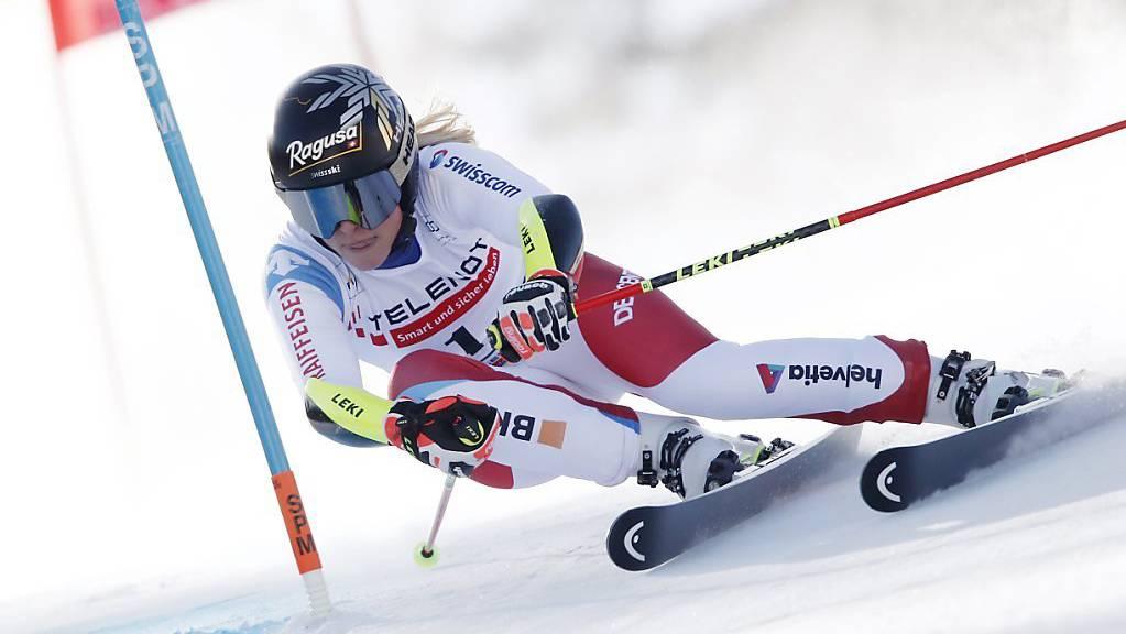Riesenslalom-Weltmeisterin Lara Gut-Behrami verpasste beim Riesenslalom in Jasna das angestrebte Spitzenresultat.