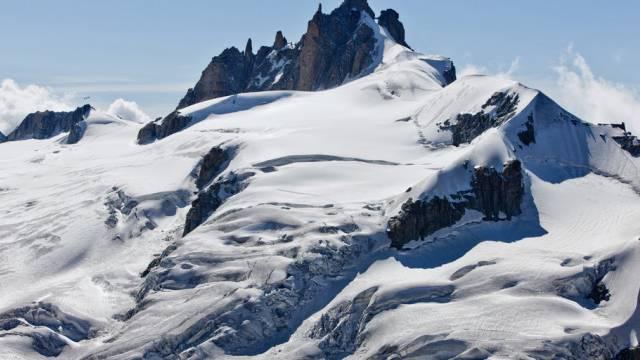 Tod am Mont Blanc: Zwei Italienerinnen verschüttet (Symbolbild)