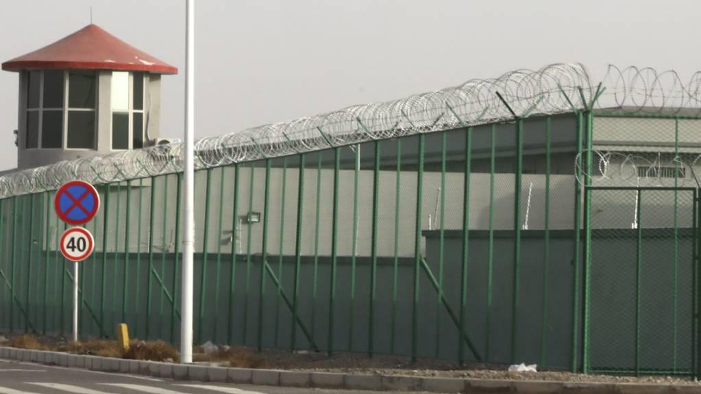 So sieht «Umerziehung» in China aus: Lager hauptsächlich für Angehörige der muslimischen Mehrheit in der ostchinesischen Provinz Xinjiang.